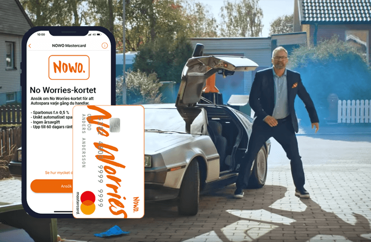 Adam Alsing Nowo kreditkort reklam