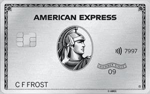 American Express Platinum kreditkort
