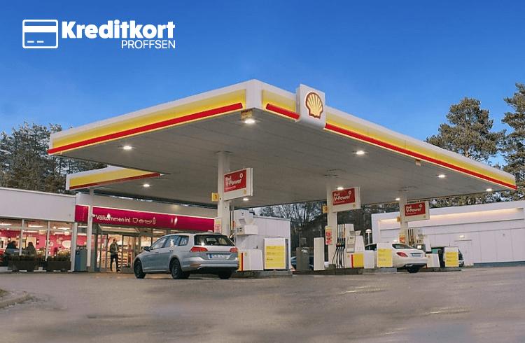 Bensinkort används på bensinstation