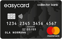 collector bank easycard kreditkort