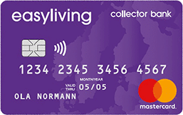 Collector Bank Easyliving Kreditkort