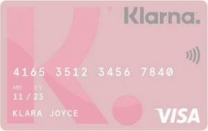 Klarna kort kreditkort