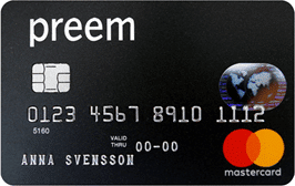 Preem Mastercard kreditkort