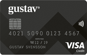 Kreditkortet Gustav