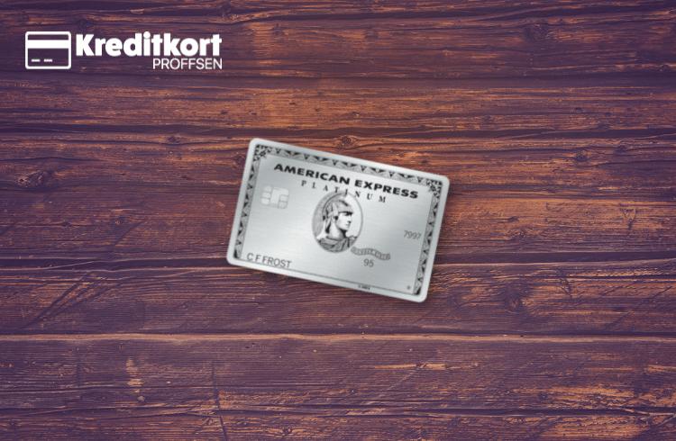 Nya kreditkortet i metall Amex Platinum